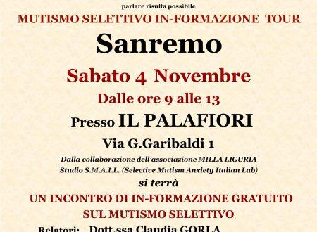 MUTISMO SELETTIVO IN-FORMAZIONE TOUR