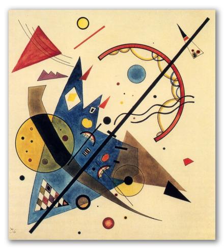 "Kandinsky ""Arco e freccia"""